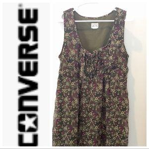 Converse Floral Green Dress L